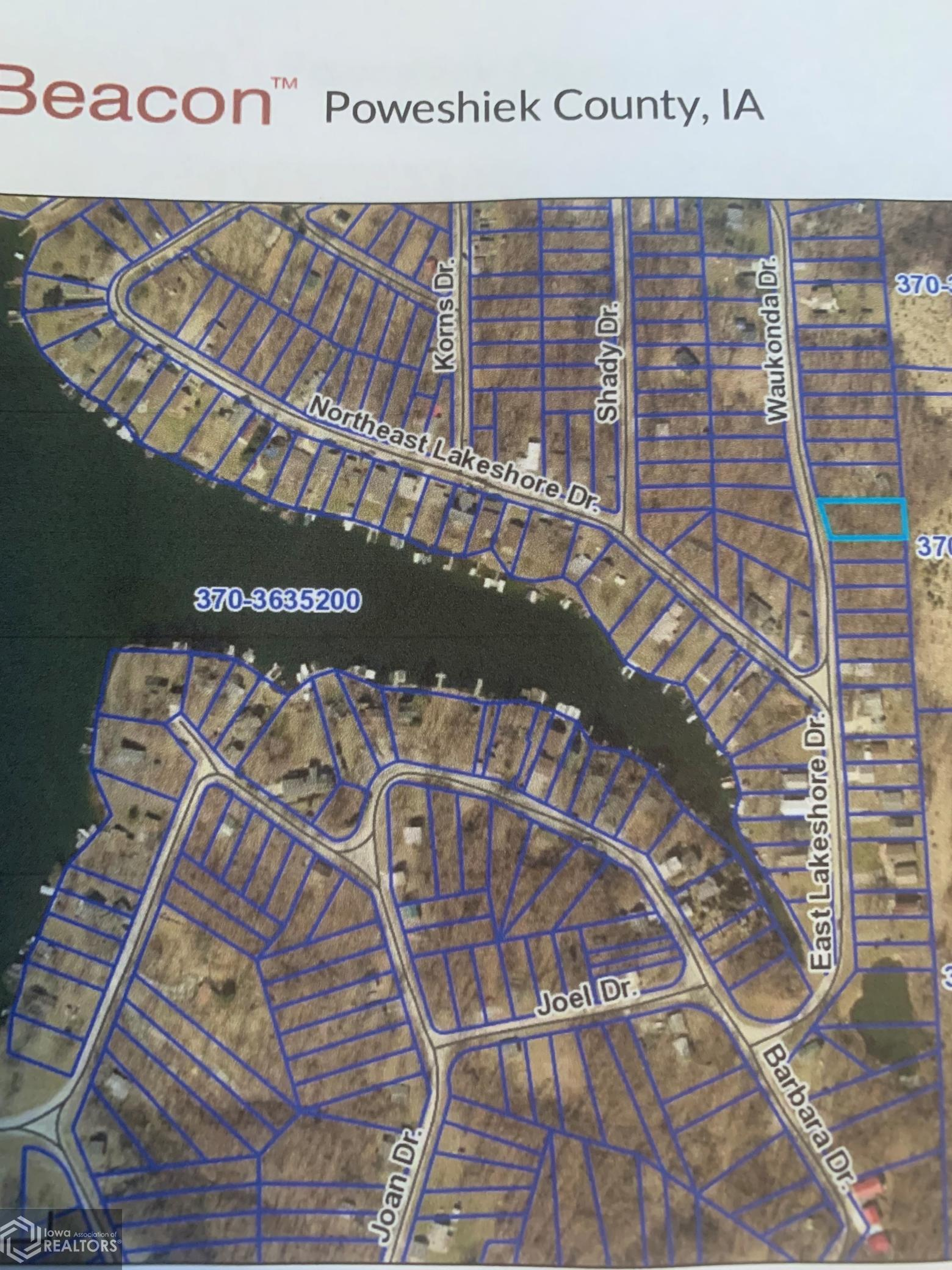 6005 Waukonda, Brooklyn, Iowa 52211-2906, ,Lots & Land,For Sale,Waukonda,6023170