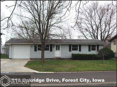 118 Oakridge Drive, Forest City, Iowa 50436, 4 Bedrooms Bedrooms, ,1 BathroomBathrooms,Single Family,For Sale,Oakridge Drive,5567396